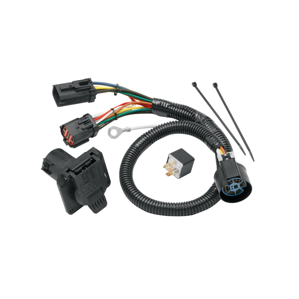 7 flat wiring harness tekonsha replacement tow harness wiring package  7 way  for ford  tekonsha replacement tow harness wiring