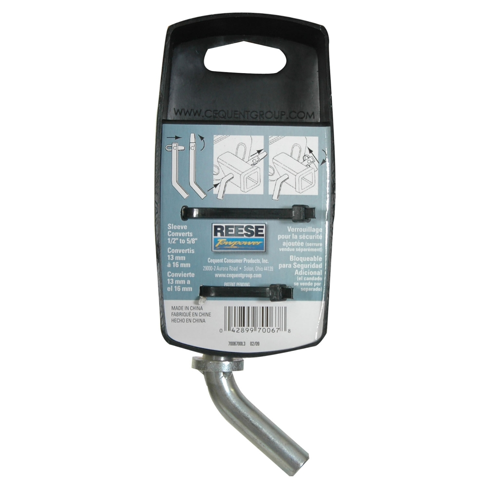 Reese Towpower 7006700 Hitch Pin with Swivel Latch 2 Piece