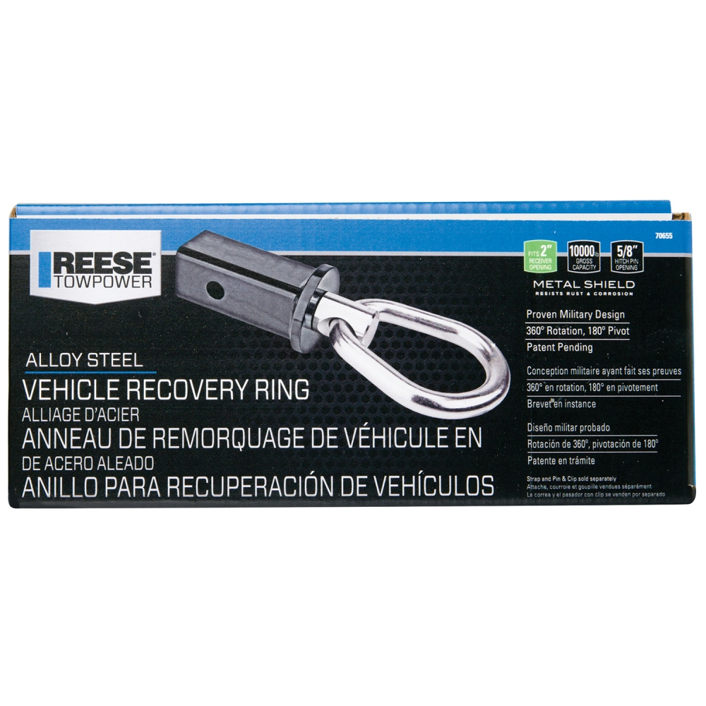 Reese Towpower 7065500 2 Vehicle Recovery Ring