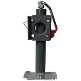 """Reese Towpower  2000 lbs. Industrial Top Wind Jack w/Foot plate - 10"""" Travel 74414"""