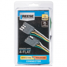 REESE 74686 Trailer Adapter With Coil Cable
