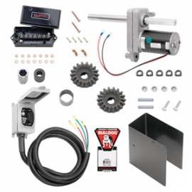 Bulldog 12,000 lbs. Electric Powered-Drive Trailer Jack Kit For Two Speed Jacks