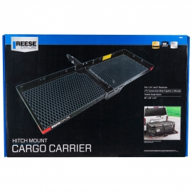 """Reese Explore Cargo Carrier for 1-1/4"""" Sq. Receivers, 20"""" x 48"""" Platform"""