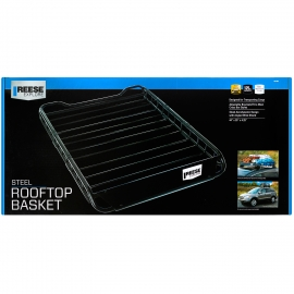 "Reese Explore Roof Top Cargo Carrier (44"" x 35"" x 4-1/4""), 3 - Piece w/Custom Air Deflector"