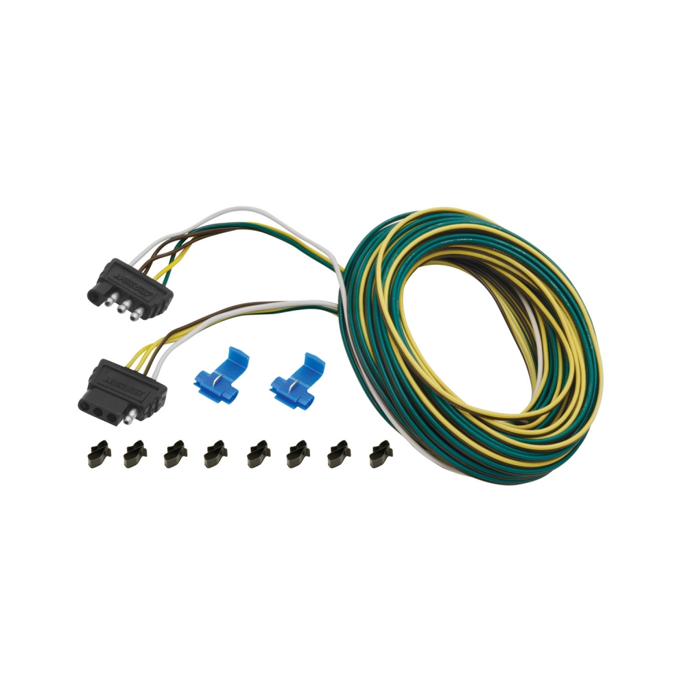 car wiring harness kits wesbar 4 flat wiring harness tow plug kit trailer end connector  wiring harness tow plug kit trailer
