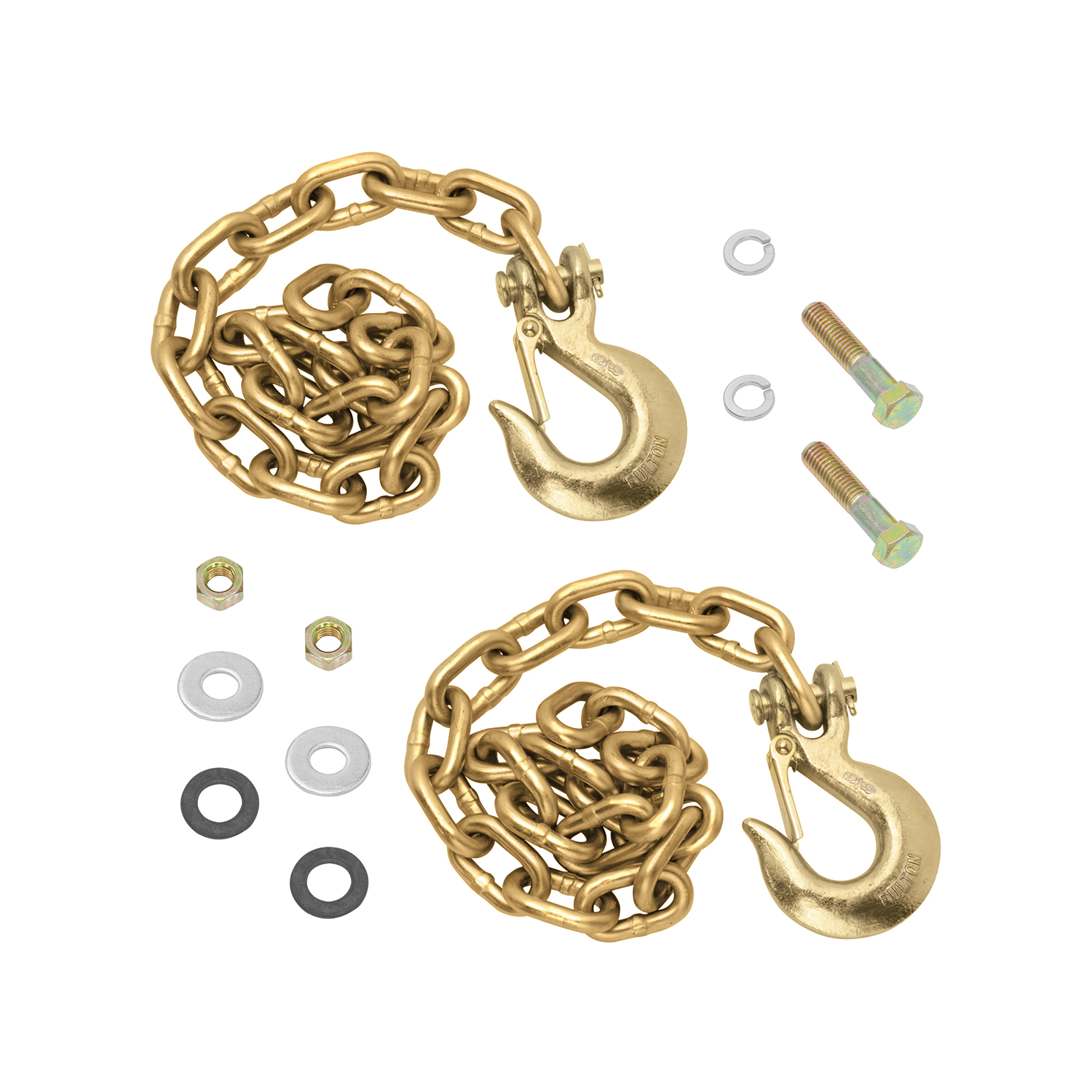 Reese Goose Box Accessory, 20K Safety Chain Kit (Contains: (2) Grade 70, 5/16